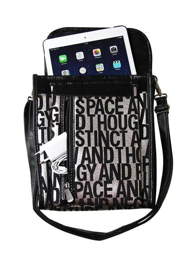 M&W Sleeve 8904 Gümüş Siyah 7 Inc -10.1 Inc Tablet Taşıma Çantası Renkli